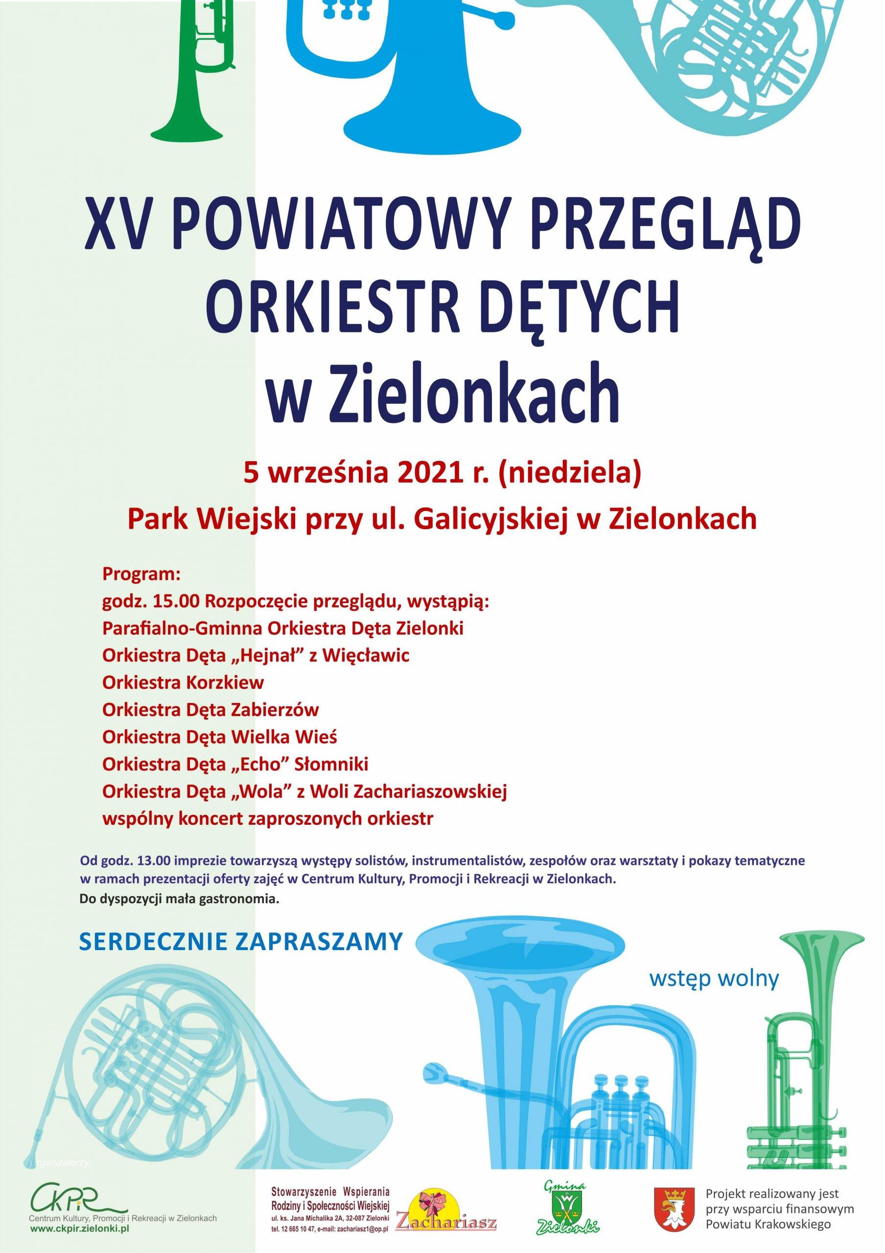 XV Powiatowy Przegląd Orkiestr Dętych w Zielonkach