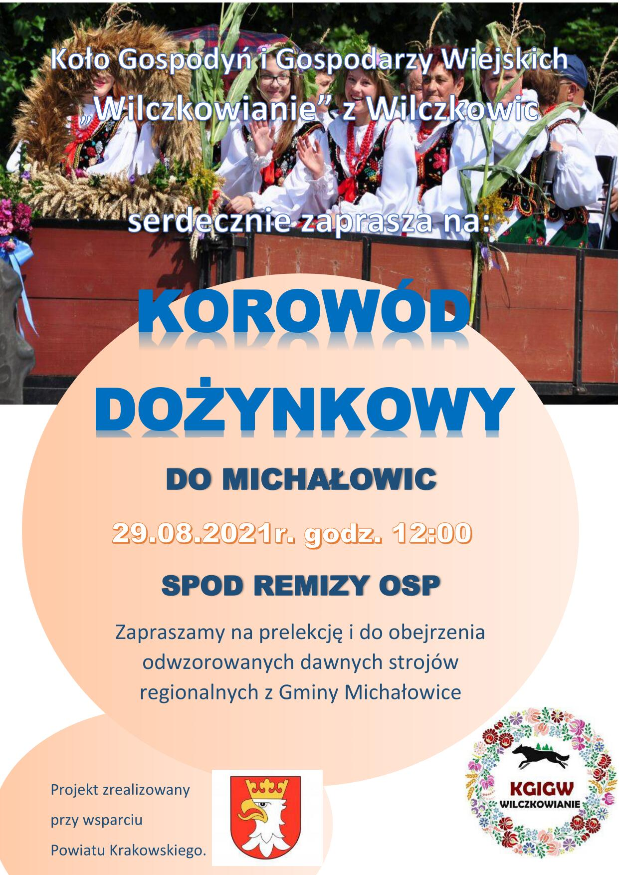 Korowód Dożynkowy do Michałowic