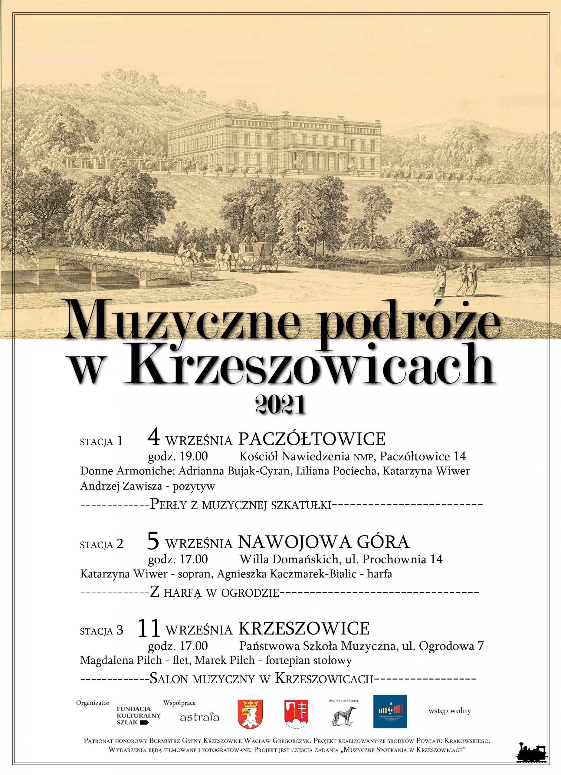 Muzyczne podróże w Krzeszowicach 2021