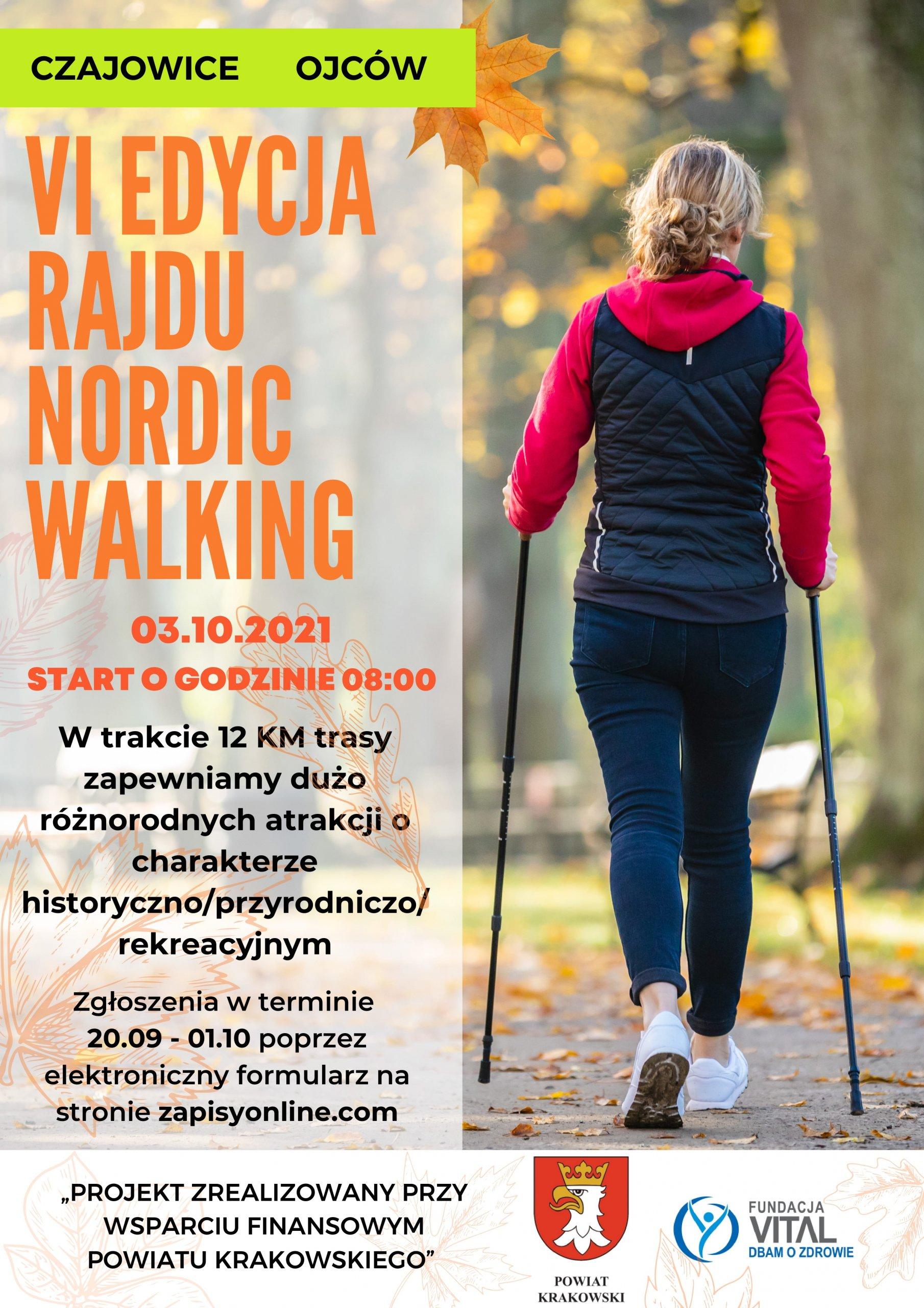 VI edycja rajdu nordic walking