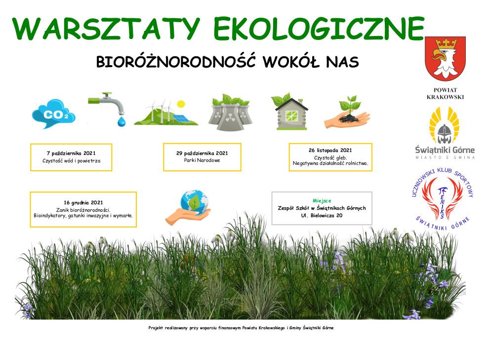 Warsztaty Ekologiczne - Bioróżnorodność wokół nas