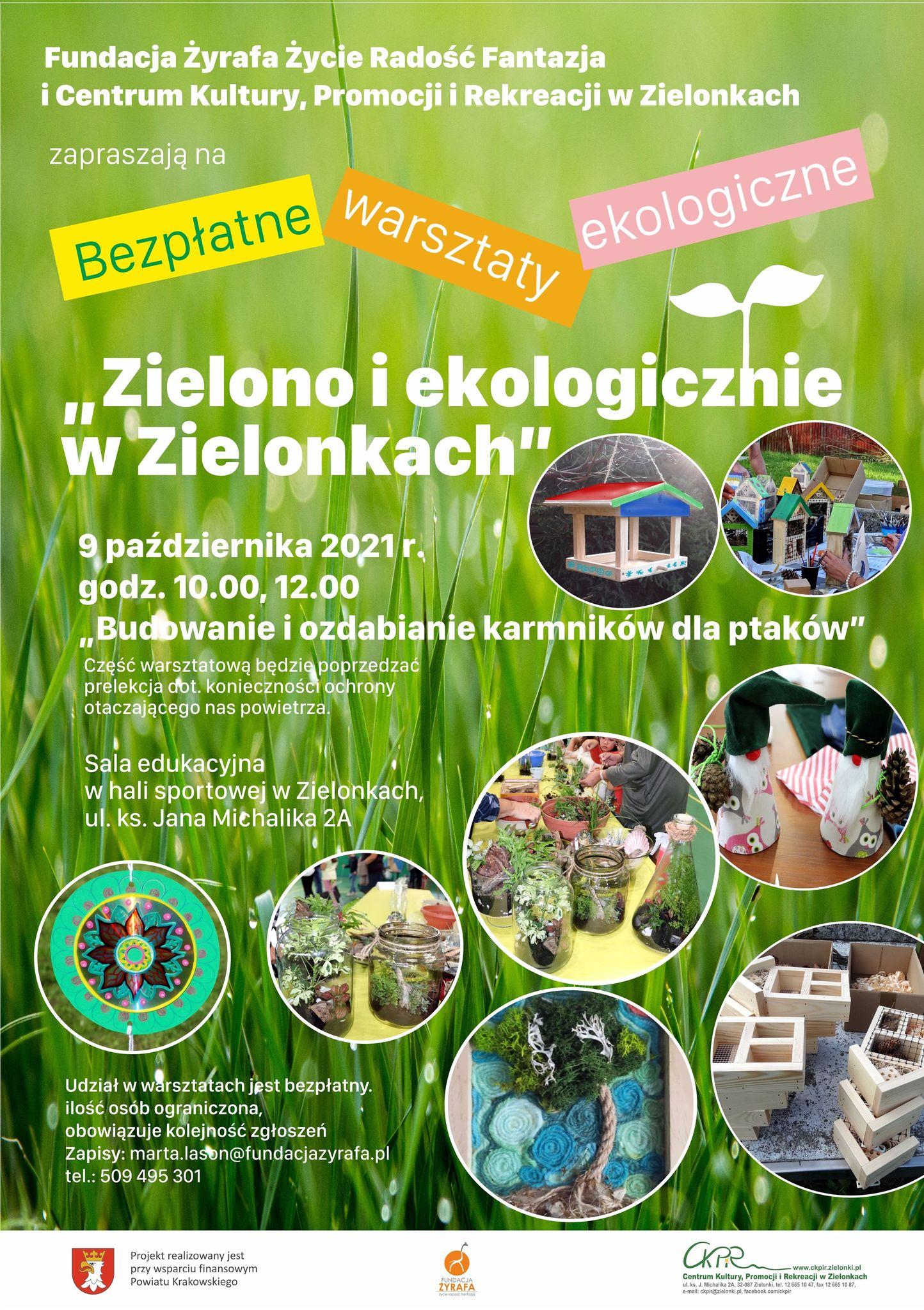 Zielono i ekologicznie w Zielonkach